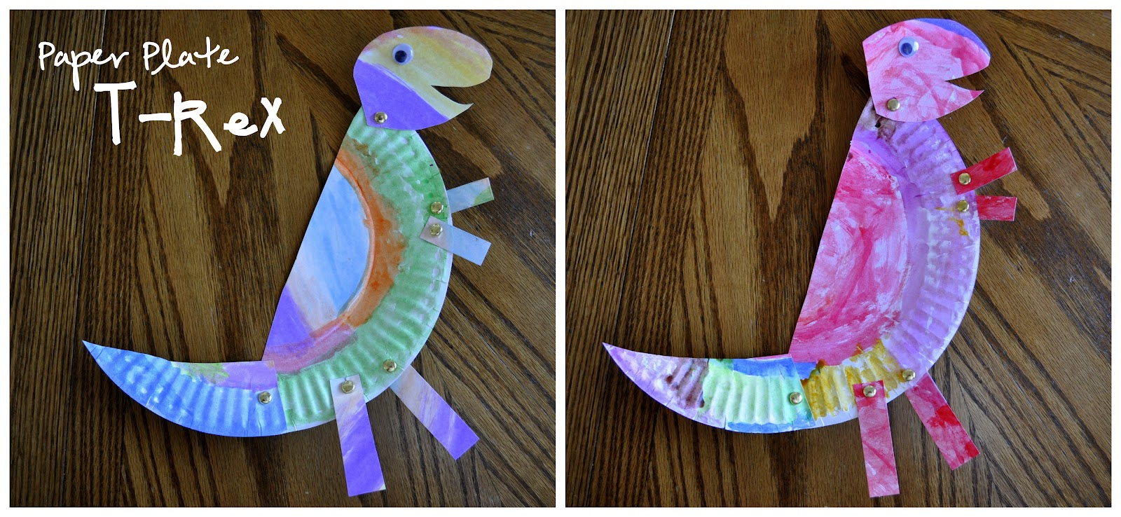 Paper Plate T-Rex  sc 1 st  I Heart Crafty Things & Paper Plate T-Rex | I Heart Crafty Things