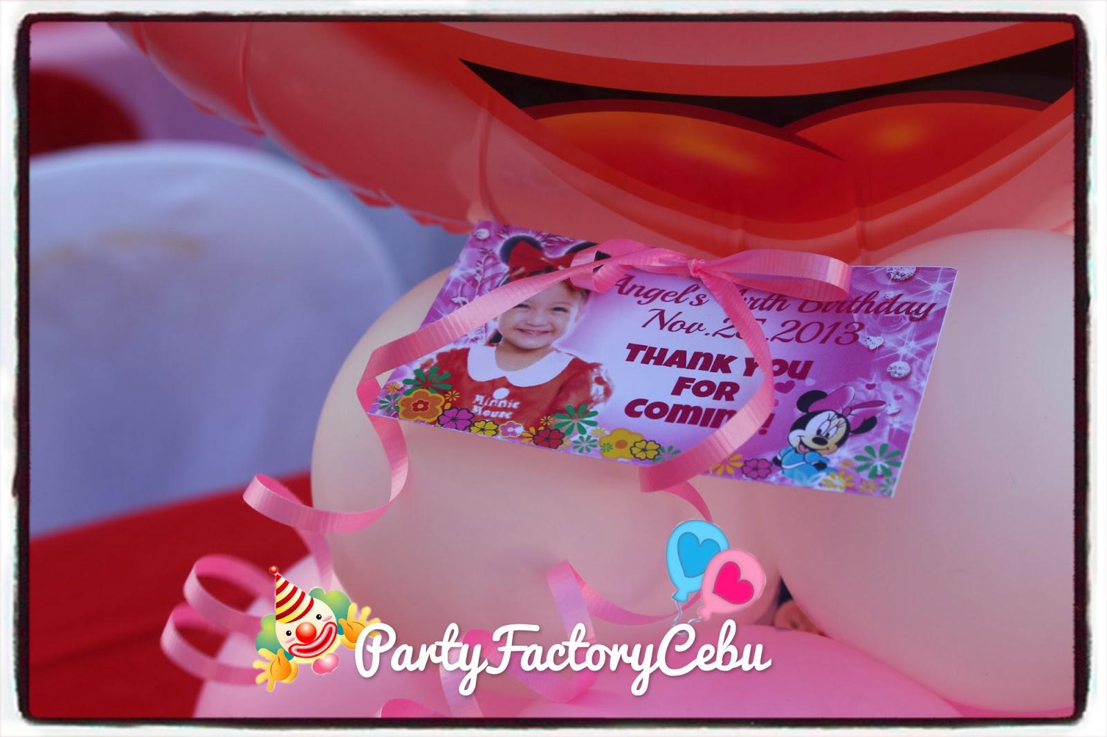 Welcome To Partyfactory Cebu Angel S 4th Birthday Bash