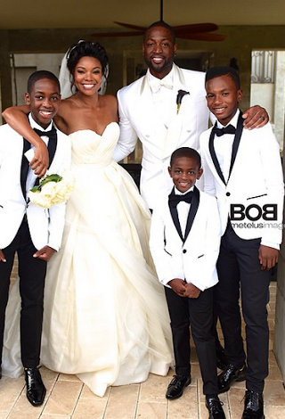 More Photos From Gabrielle Union and Dwayne Wade's Fairy tale Wedding