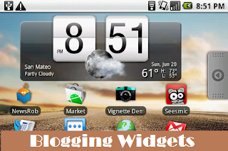 blogging widgets