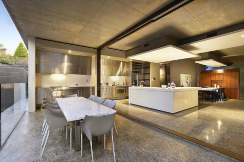 Astounding Modern Kitchen With Dining Room Ideas Best image home