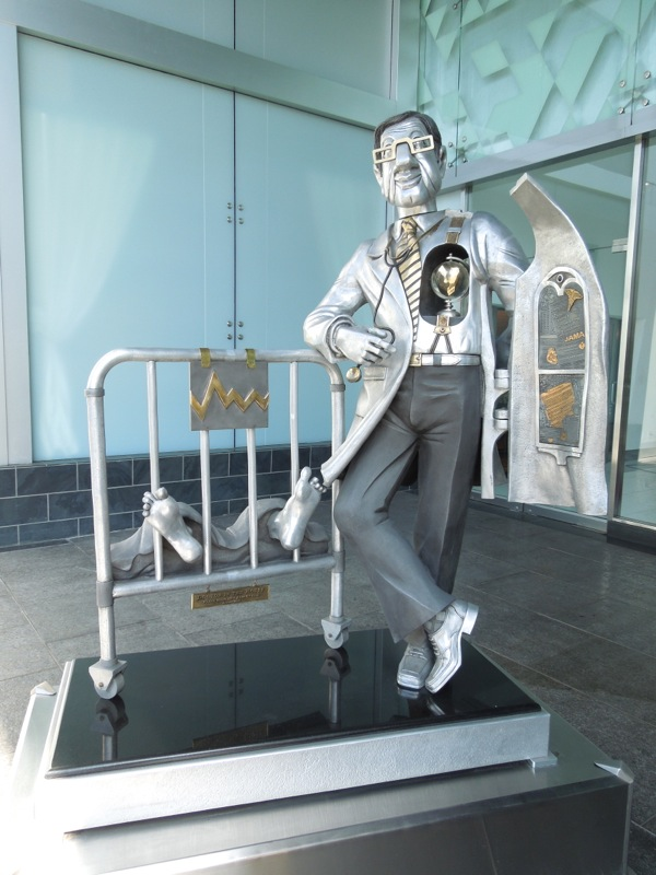 Doctor in the House statue