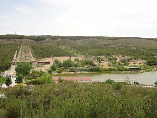vista del parque senda viva desde al Granja