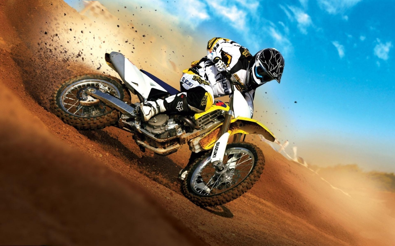 Super Dirt Bike, HD Wallpaper