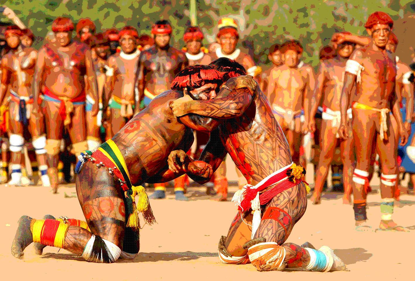 Walmart Aparador De Sala ~ A Tela da Reflex u00e3o Xingu aborda com dignidade a quest u00e3o indígena