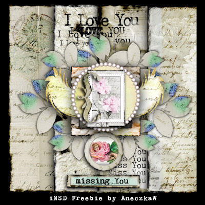 "Free scrapbook ""Missing you"" by aneczkaw"