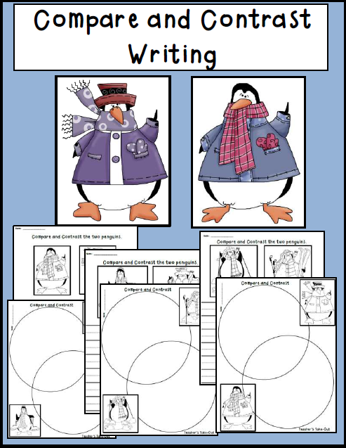 Free Compare and Contrast Writing