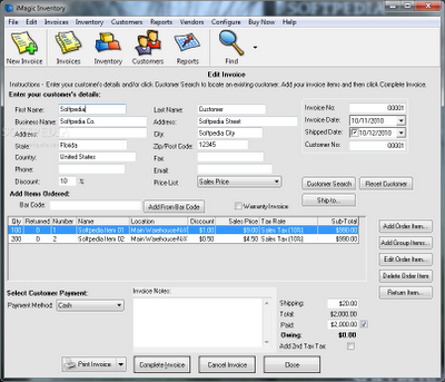 Download iMagic Inventory Software