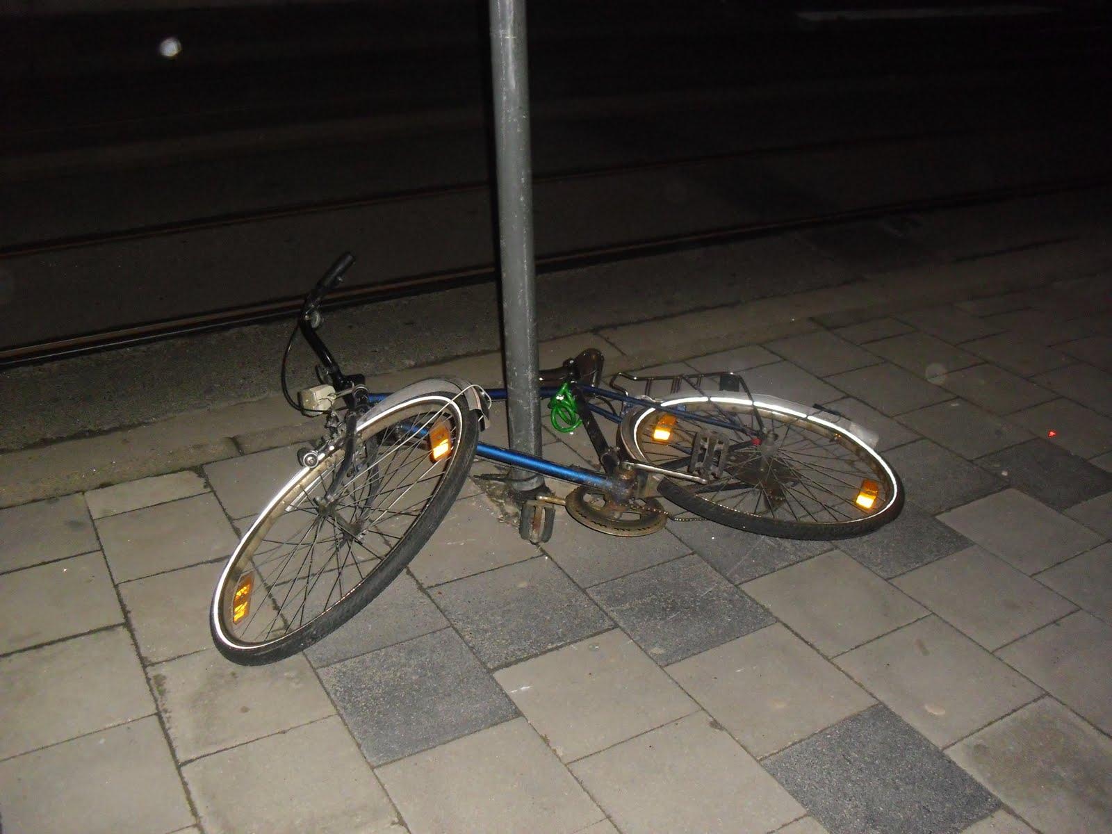 Una de las millones de bicicletas que encontramos en Gante