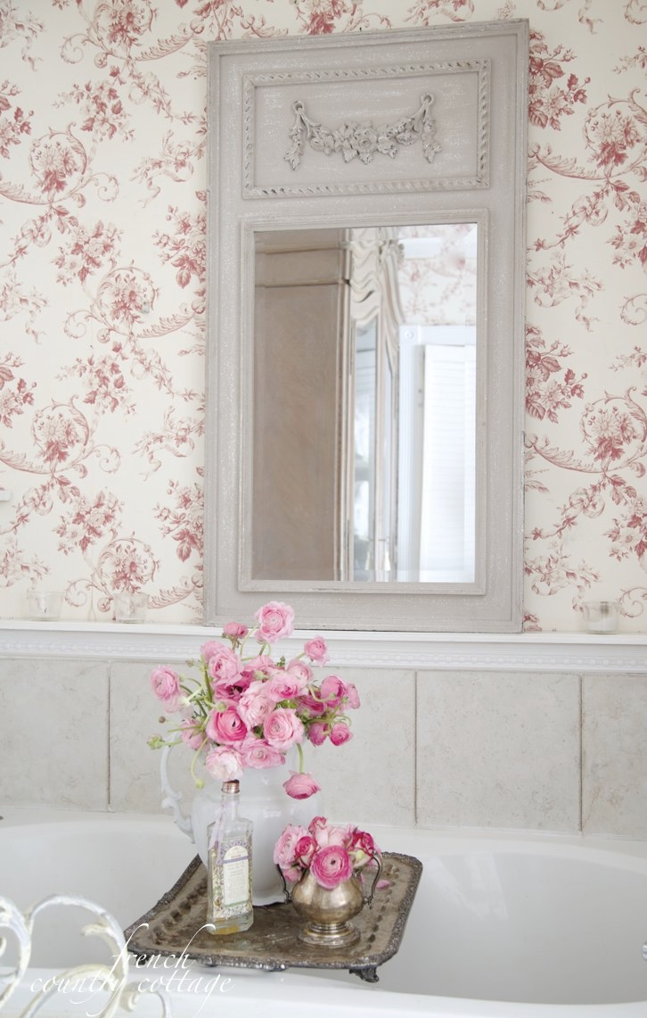 French inspired find french country cottage for French shabby chic bathroom ideas