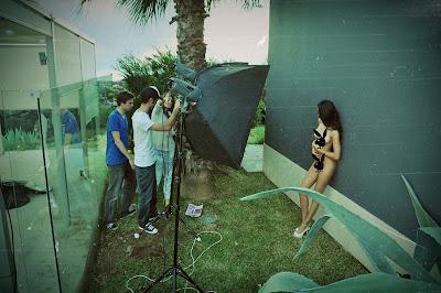 Andreia Machado é capa da Playboy de Março