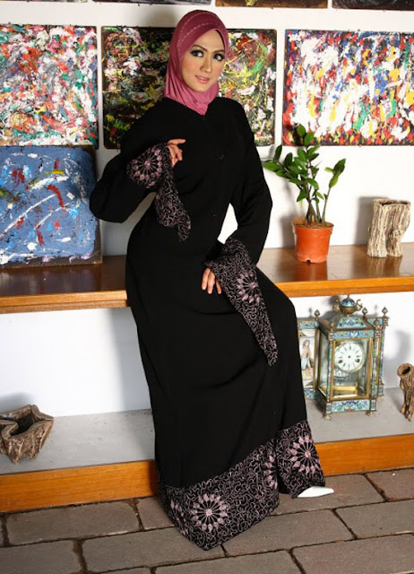 Stylish-Abaya-Dress-for-Muslim-Women