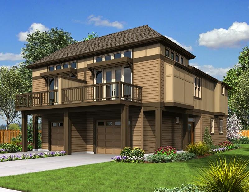 Contoh Desain Rumah Kayu Minimalis