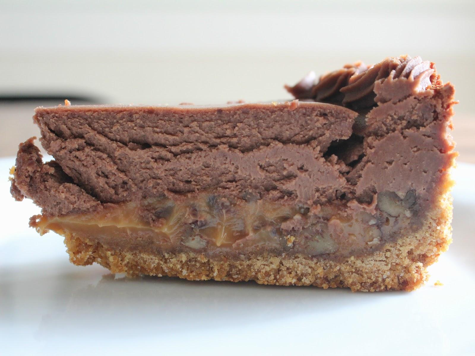 Savor His Goodness: Chocolate Turtle Cheesecake