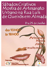 """""""Sábados Criativos"""" em Almada"""