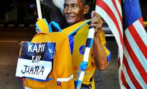 Pak Majid Selamat Tiba di Stadium Shah Alam