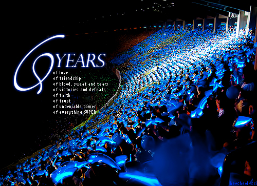 Donghaeswaggerhere Happy 6th Year Anniversary Super Junior