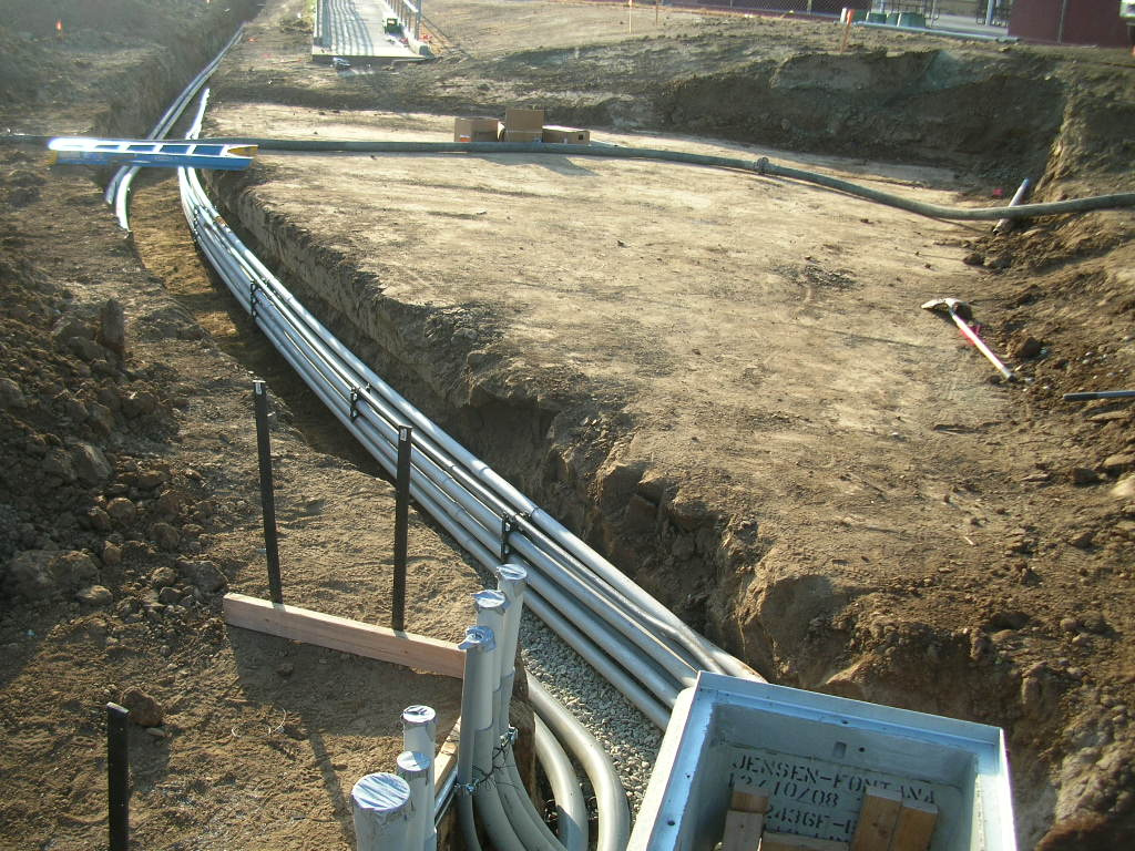 Duct bank construction in toronto horizontal directional