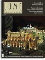 Este Blog foi matéria na Revista Lume Arquitetura ed.51