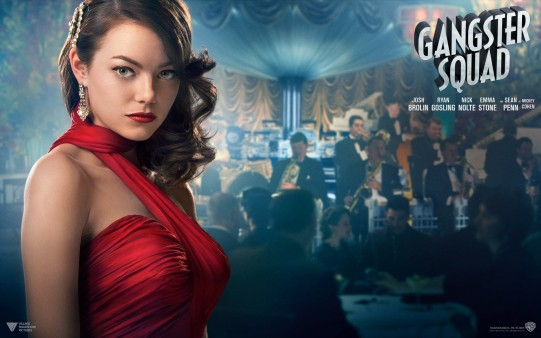 Emma Stone in Gangster Squad Wall