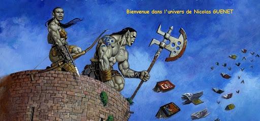 Bienvenue dans l'univers de Nicolas GUENET