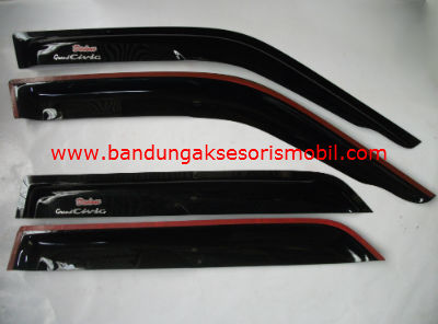 Talang Air Grand Civic 88-91 Sport Mugen Depan Belakang