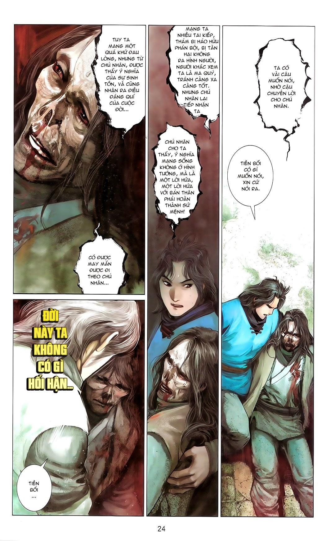 Phong Vân chap 670 Trang 23 - Mangak.info