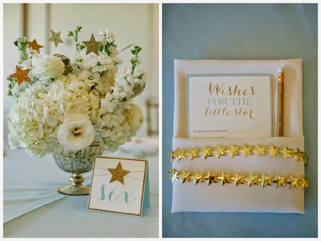 simple little details event design twinkle twinkle little star