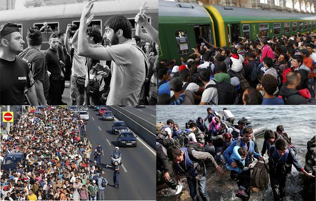 Migrant invasion of Europe