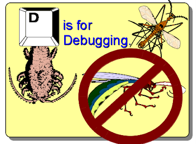 """D"" is for Debugging"