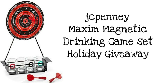 Inspirafashion jcpenney maxim magnetic drinking game set holiday all you have to do to win this game set is leave a comment on this post along with your email and thats it solutioingenieria Images