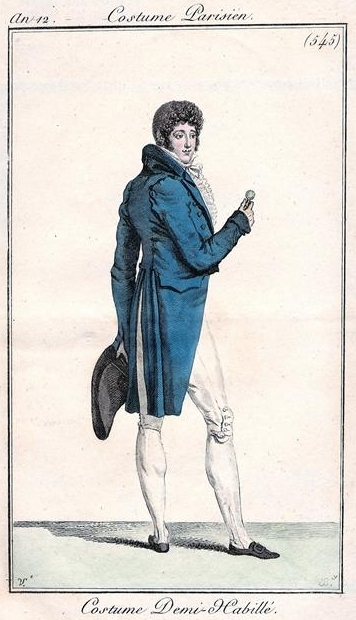 Costume Parisien 1804
