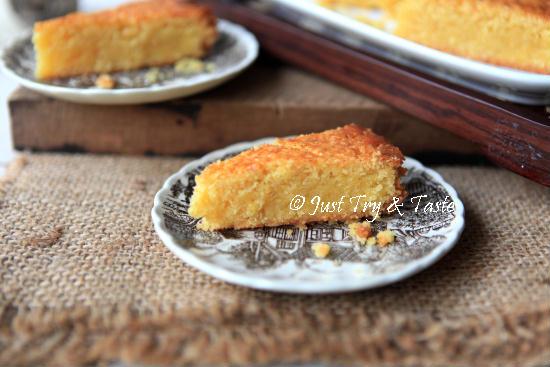 Resep Dutch Boterkoek - Butter Cake a la Belanda JTT