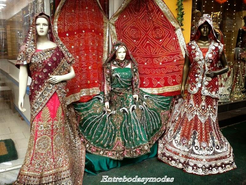 Entre Bodas y Modas: Vestidos Novia India