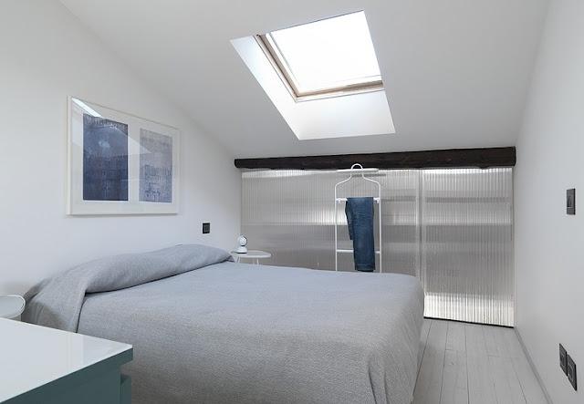Skandinavisches Design für Einrichten und Wohnen auf kleinstem Raum: Schlafzimmer