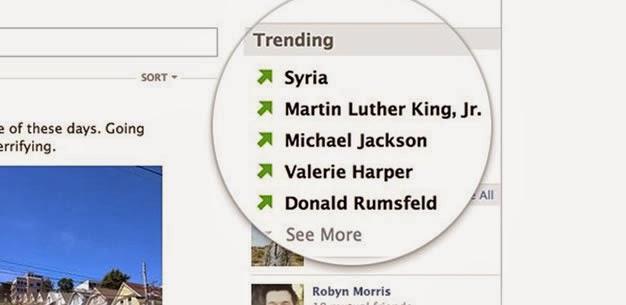tendencias Facebook