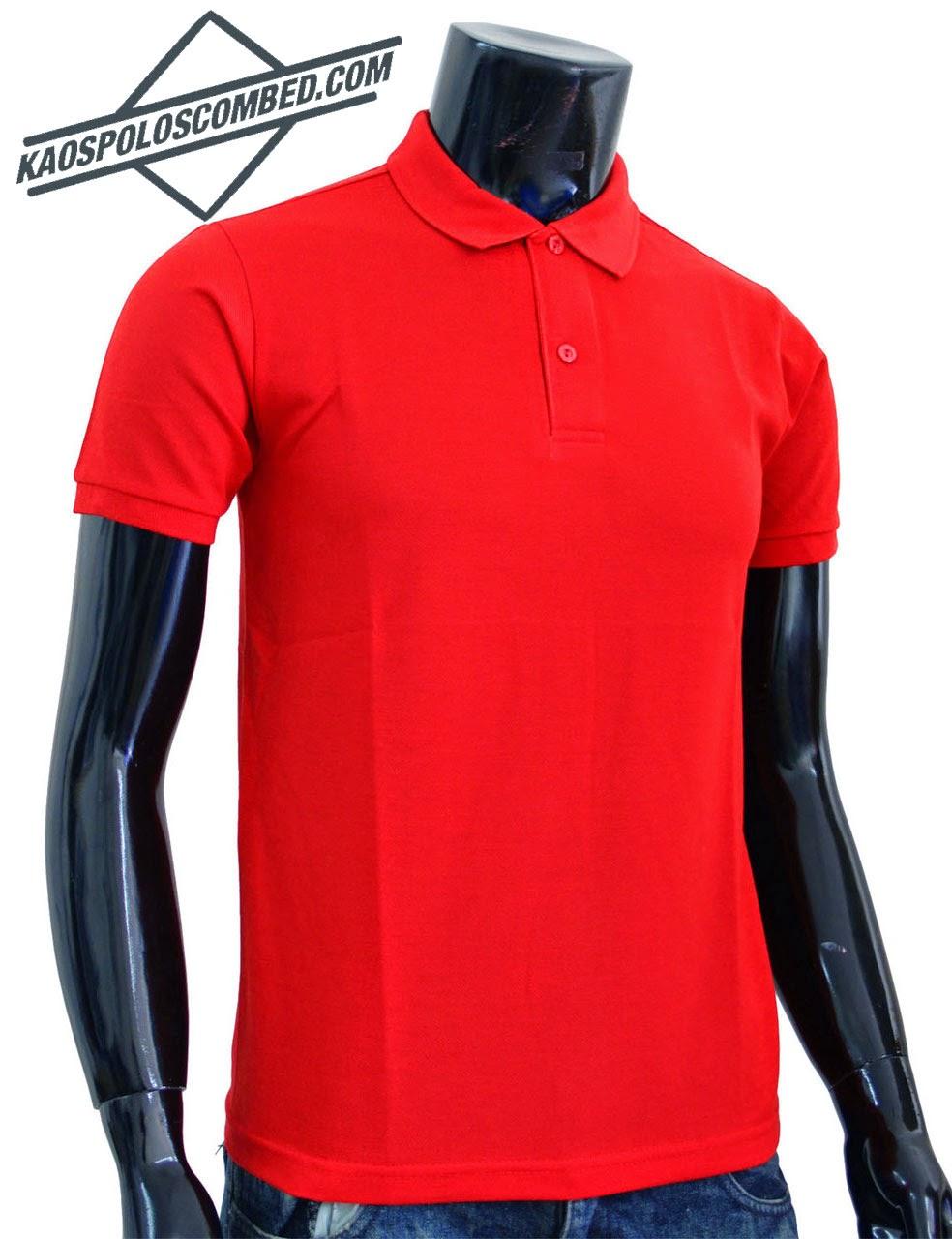 Polo Shirt Polos Merah