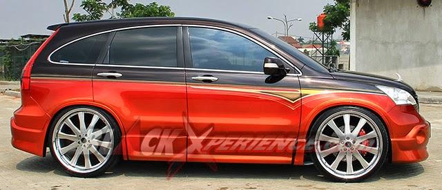 Tampilan Modifikasi Honda CRV