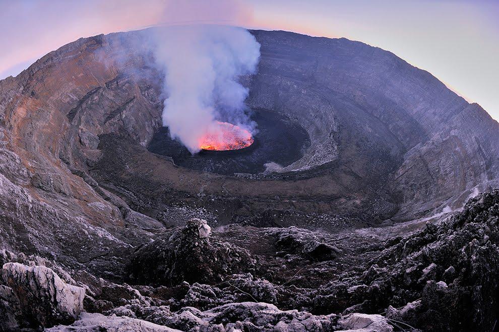 mount nyiragongo height