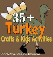 35 Turkey Crafts & Kids Activities