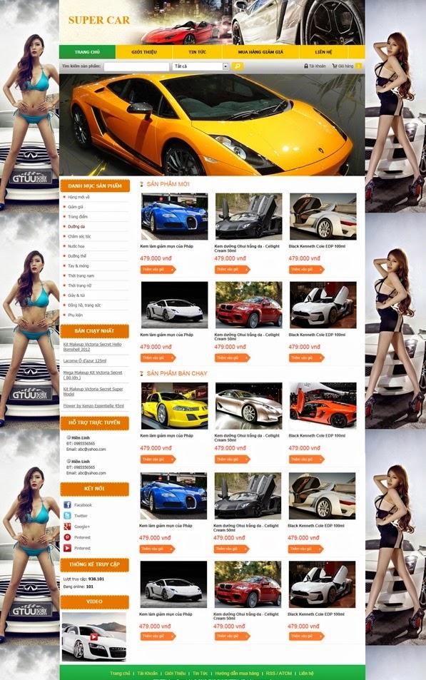 dịch vụ thiết kế website bán hàng xe đạp điện