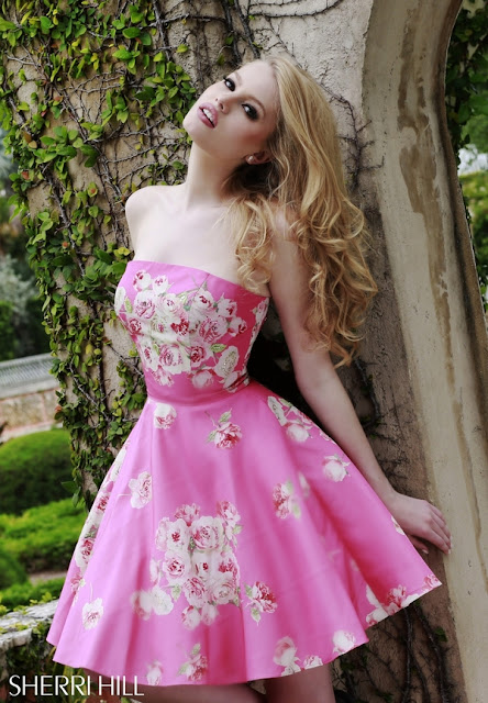 Sherri Hill Prom Dresses pink 3
