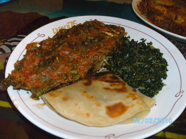 kenya how to eat food
