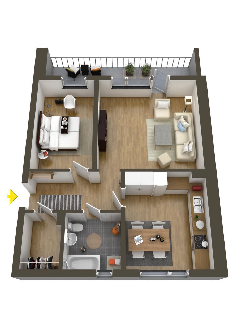 Desain renovasi apartemen simple dan murah tabloid