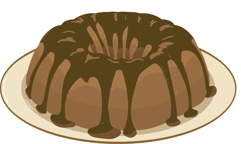 Cake Tin Clipart : United Way 2012 Auction Blog: Banana Rum Cake