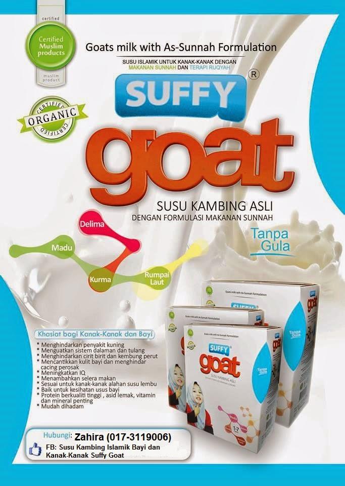 .Susu Kambing Islamik Bayi dan Kanak-Kanak Suffy Goat.