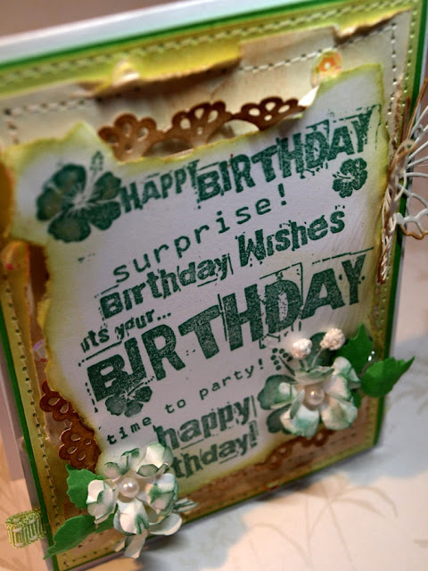 happy birthday_handmade card by Ewa Jarlińska_pearls