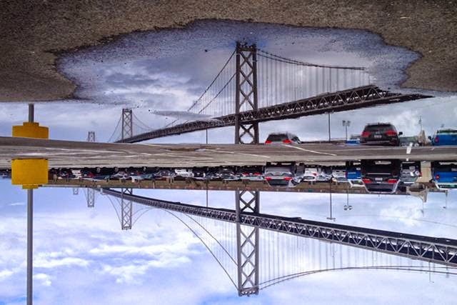 San Francisco from the Reflection