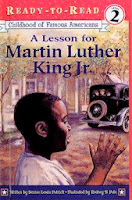 bookcover of A Lesson for Martin Luther King, Jr.  (Ready-to-read COFA)  by Denise Lewis Patrick