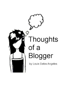 my very first e-book Thoughts of a Blogger